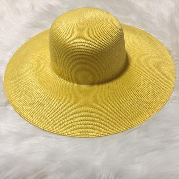 523911cdda5c54 Betmar Accessories - Vintage Street Smart Betmar Yellow Wide Brim Hat